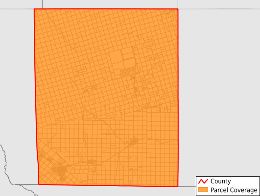 Upton County Texas GIS Parcel Data Download Coverage