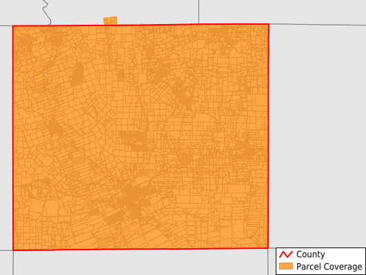 Uvalde County Texas GIS Parcel Data Download Coverage