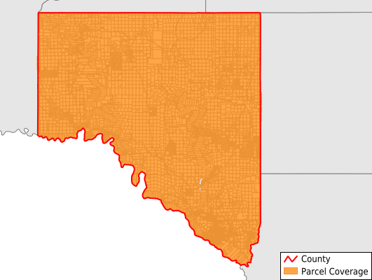 Val Verde County Texas GIS Parcel Data Download Coverage