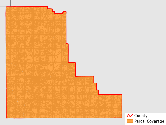 Walthall County Mississippi GIS Parcel Data Download Coverage
