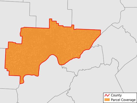 Washington County Ohio GIS Parcel Data Download Coverage