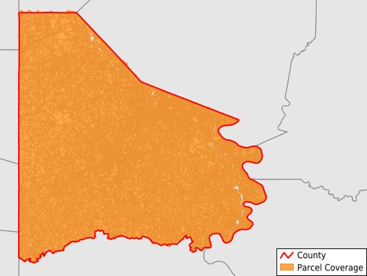 Washington County Pennsylvania GIS Parcel Data Download Coverage