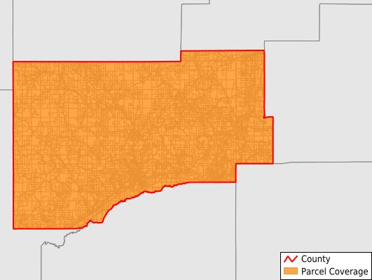 Webster County Mississippi GIS Parcel Data Download Coverage
