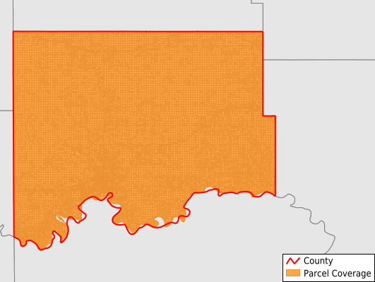 Williams County North Dakota GIS Parcel Data Download Coverage