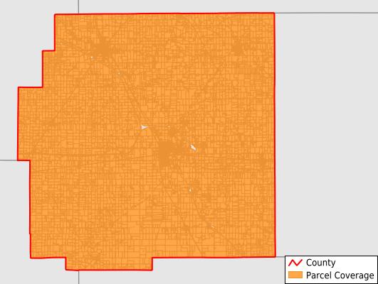 Wyandot County Ohio GIS Parcel Data Download Coverage