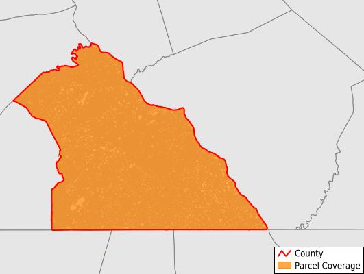 York County Pennsylvania GIS Parcel Data Download Coverage